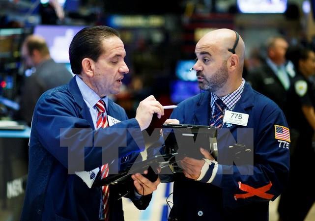Thị trường chứng khoán Mỹ bật tăng đạt mức kỷ lục