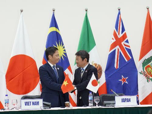 Các trưởng đoàn đàm phán sắp nhóm họp 'TPP không có Mỹ'