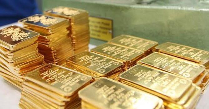 """Giá vàng SJC """"lặng sóng"""" bất chấp vàng thế giới tăng mạnh"""