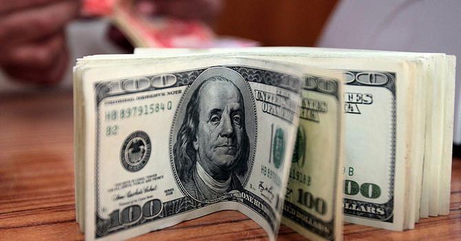 Đồng USD tăng giá nhẹ