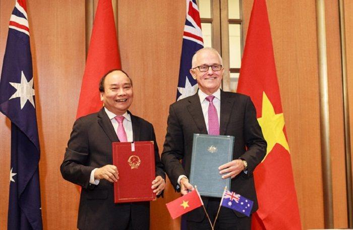 Việt Nam - Australia chính thức thiết lập quan hệ đối tác chiến lược