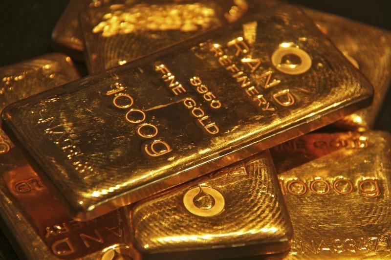 Giá vàng giảm do dự đoán Fed tăng lãi suất tuần tới
