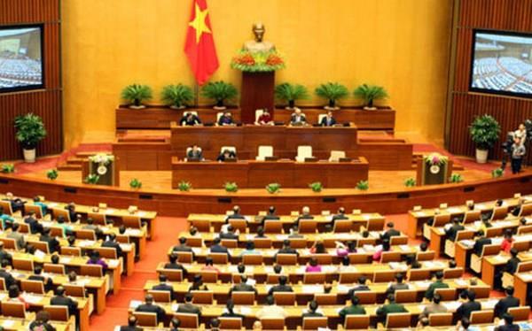 Kỳ họp 5 Quốc hội khóa XIV biểu quyết 8 luật quan trọng