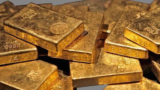 Vàng thoát đáy 2018 nhờ USD suy yếu