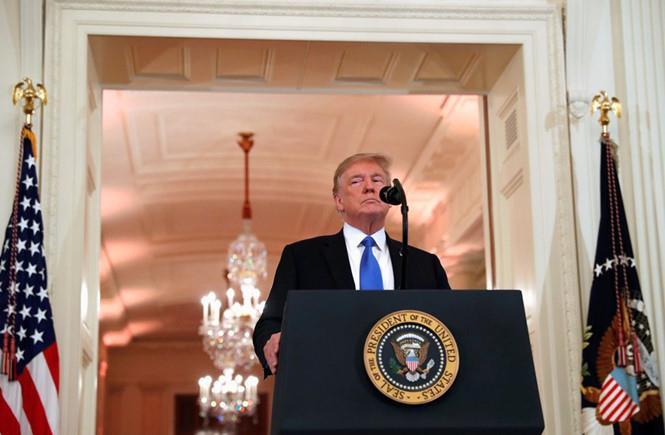 Tổng thống Trump lo Trung Quốc cản trở đàm phán với Triều Tiên