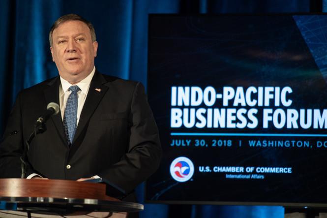 Mỹ công bố chiến lược kinh tế Ấn Độ Dương - Thái Bình Dương