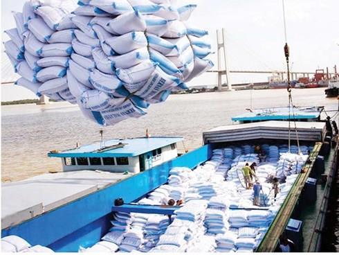 Xuất khẩu gạo 8 tháng năm 2018 tăng cả về khối lượng và kim ngạch