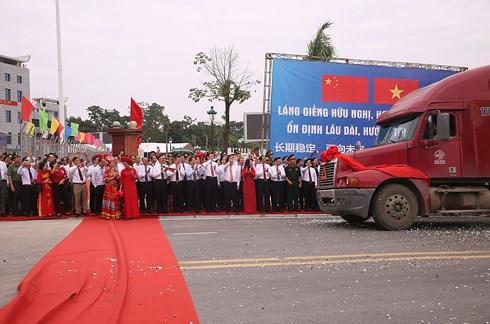 Thúc đẩy giao thương hàng hóa giữa hai nước Việt Nam – Trung Quốc