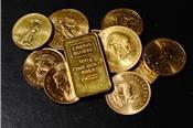 USD yếu nhất 9 tuần, giá vàng cao nhất gần 1 tuần