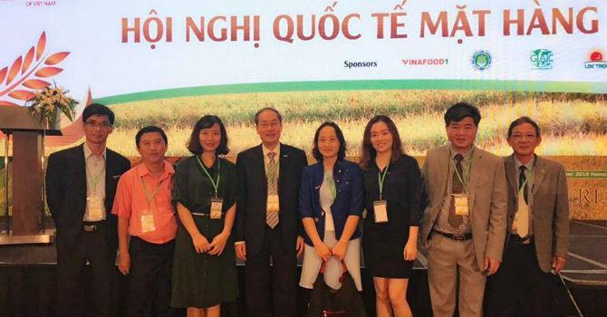 Hapro ký hợp đồng xuất khẩu gạo trị giá 2,5 triệu USD sang Malaysia và Mỹ