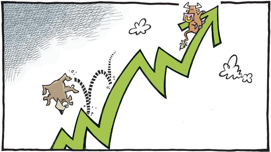 Nhóm dầu khí bứt phá, VN-Index tăng hơn 8 điểm