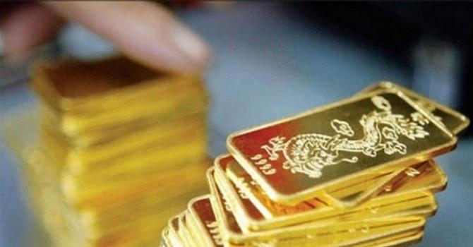 Giá vàng trong nước tăng nhẹ khi giá vàng thế giới bật tăng mạnh