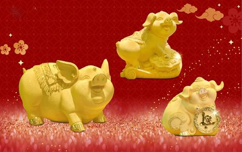 DOJI tung sản phẩm mỹ nghệ vàng hút khách dịp Tết