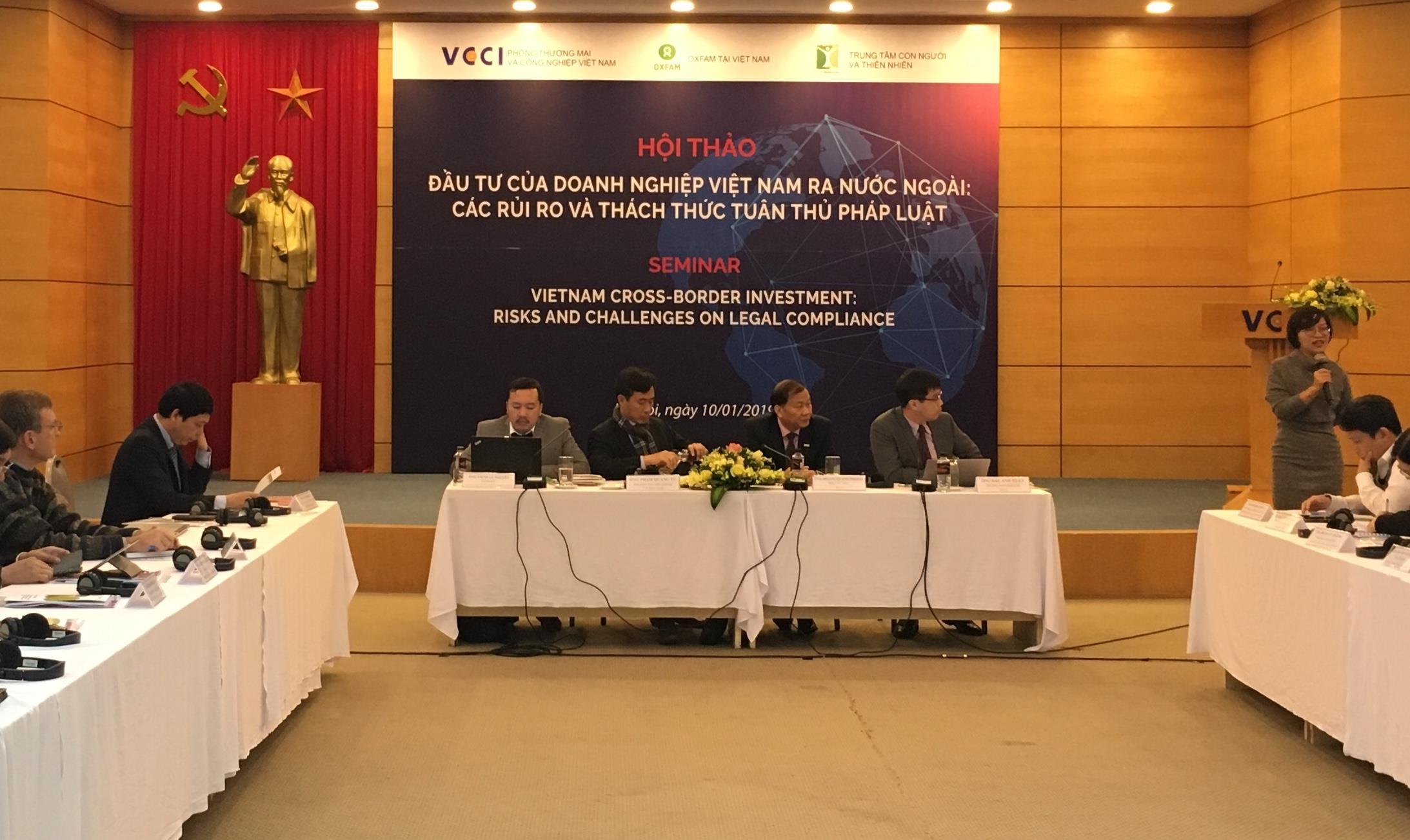 Doanh nghiệp Việt gặp khó khi đầu tư ra nước ngoài vì rủi ro pháp lý