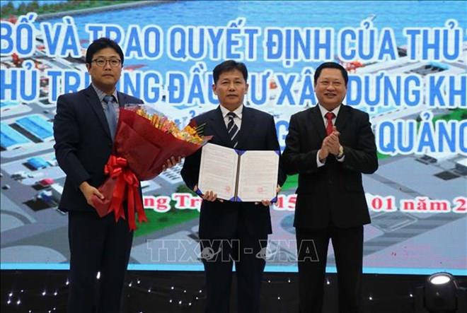 Major port to be built in Quang Tri in September