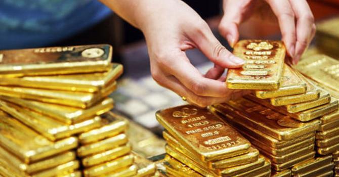Giá vàng tiếp tục tăng mạnh phiên đầu tuần