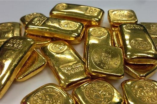 Giá vàng giảm nhẹ, duy trì ở gần đỉnh 10 tháng