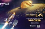 VPB: 'Bão hoàn tiền' với gói sản phẩm VPPower từ VPBank