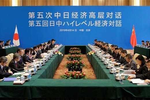 Nhật Bản - Trung Quốc thảo luận cấp cao về kinh tế, thương mại, đầu tư