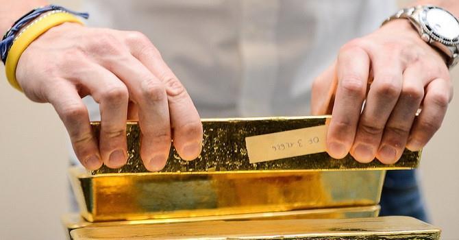 Giá vàng không ngừng giảm