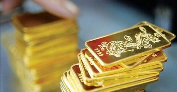 Giá vàng SJC biến động trái chiều phiên đầu tuần