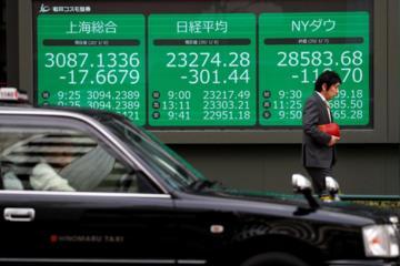Mỹ cảnh báo nguy cơ bùng phát dịch, cổ phiếu châu Á giảm hơn 1%